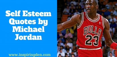 Positive Self Esteem Quotes by Michael Jordan